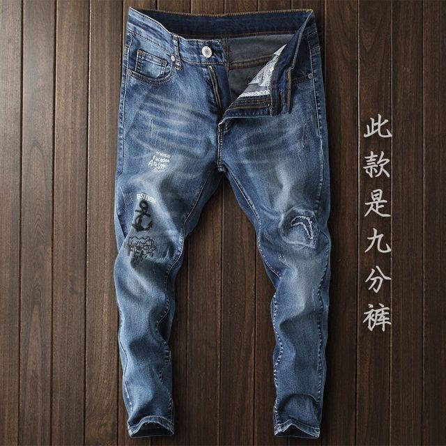 [해외] 남성 청바지 긴바지 ngle Pants