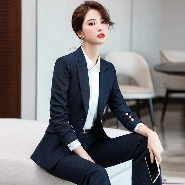 [해외] 여성 패션 재킷 자켓 정장세트 전문 의류 작업복