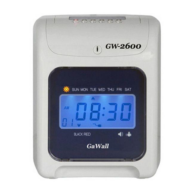 W 디지털 출퇴근기록기 GW 2600 LCD판넬