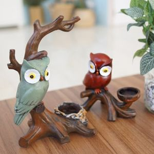 나무위 부엉이 촛대 (2 Type)