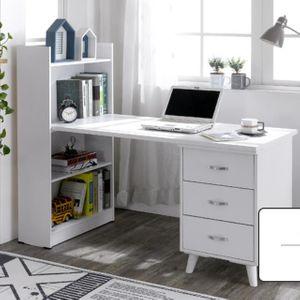 K2027 코지 서랍형 책상세트 1200 서재책상