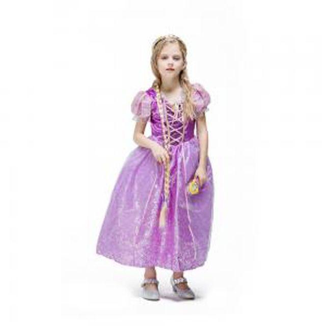 할로윈 의상 아동 여아 라푼젤 코스듐 공주 분장 소품