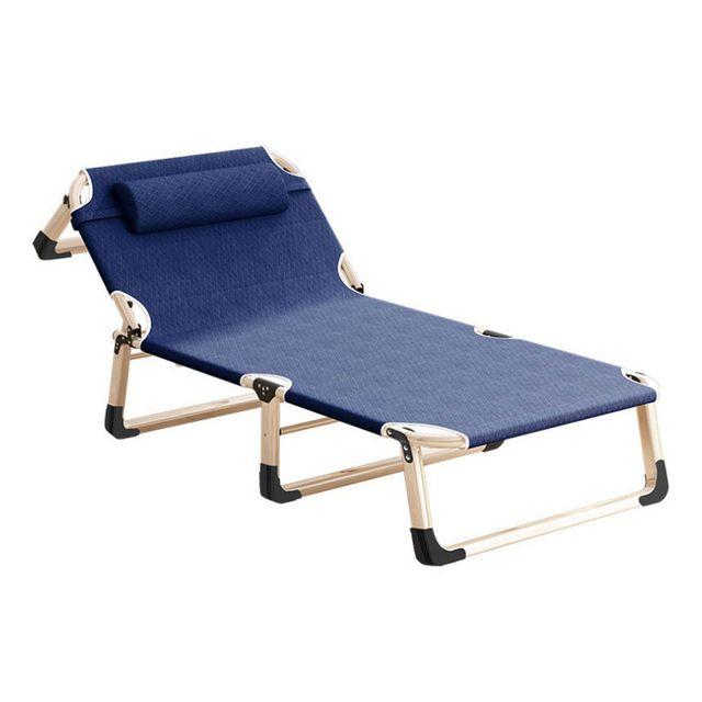 경량 야전 침대 접이식 간편 간이 캠핑 낚시 -네이비