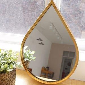 빈티지 골드 물방울 거울