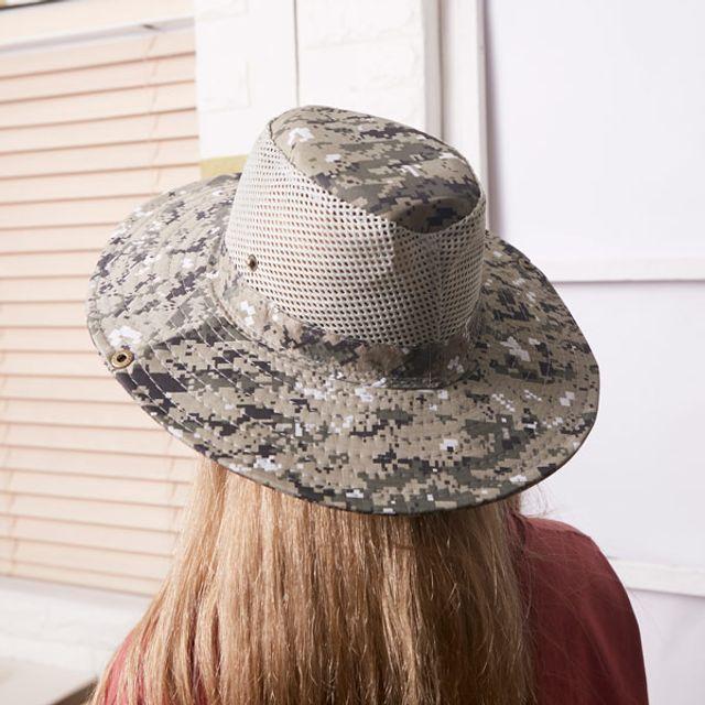 남자 여자 낚시 등산 레저 자외선차단 챙 모자 그레이