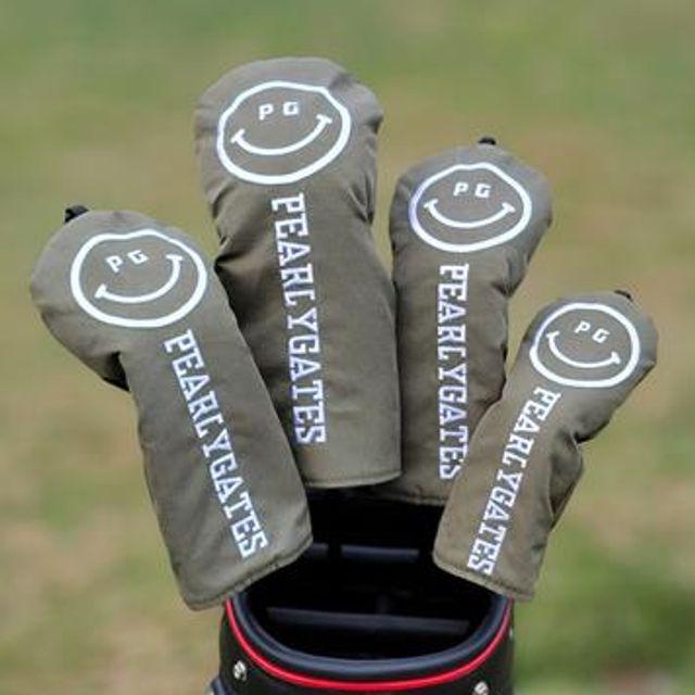 [해외] 골프용품 웃는얼굴 헤드 1번 3번 5번 유틸 커버세트3