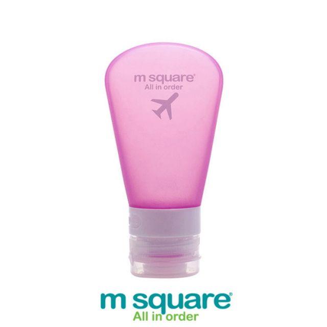엠스퀘어 여행용 소프트케이스 3종세트 핑크