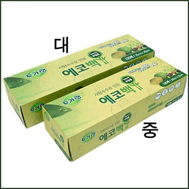 에코매스코리아 주방용품_에코백(대)(25x40)(100매)