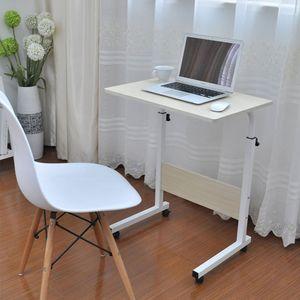 PL 이동식 높이조절 디귿자 테이블 기본형
