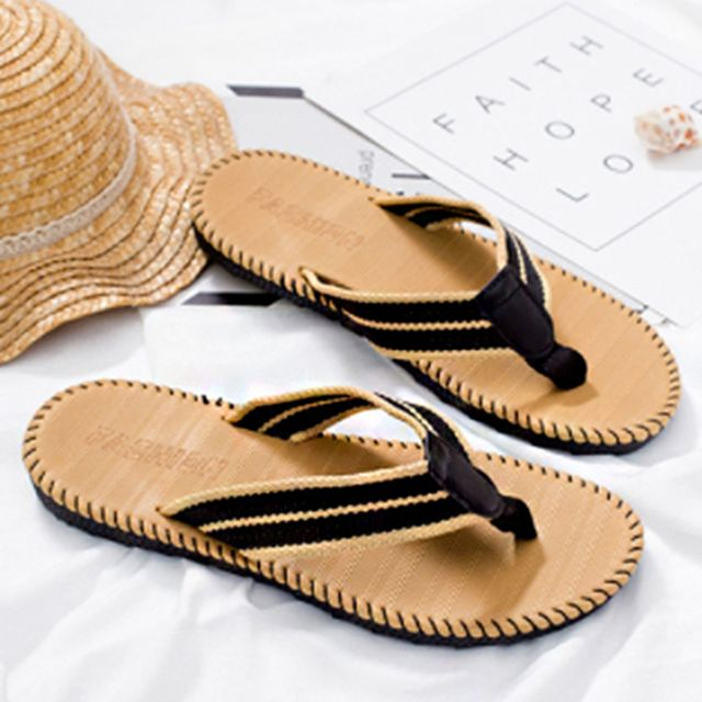 W 남자 여자 여름 패션 쪼리 여행 휴양지 플립플랍