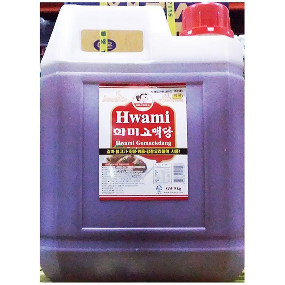 화미 황물엿 조청 대용량식자재 (9KgX1개)