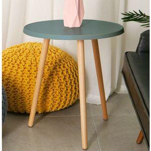 원형 티 테이블 책상 화분 거실 간이 탁자 그레이
