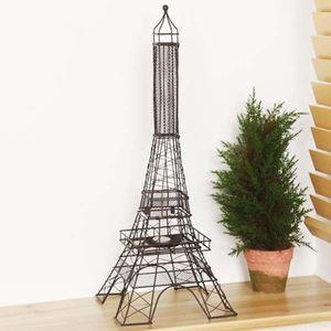 앤티크 에펠타워 촛대 빈티지 인테리어 유럽 분위기
