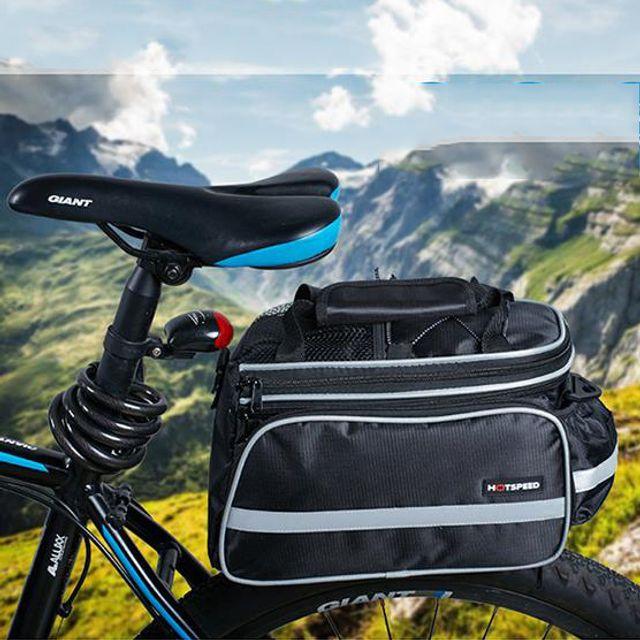 W 키밍 자전거 짐받이 가방 배낭 싸이클 대용량 핸들