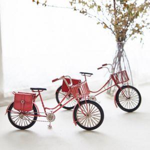 인테리어소품 철재 자전거 미니어쳐 2종