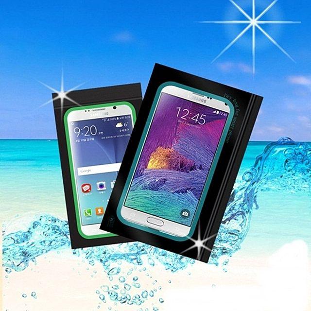 바캉스 필수 핸드폰 지퍼백 비닐팩 스마트폰 방수팩