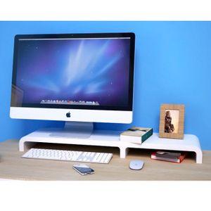 롱플렛 싱글 노트북 모니터 받침대 1개 받침 선반 거치대 키보드
