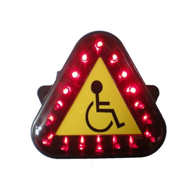 전동휠체어용 LED 안전 삼각등 후미등