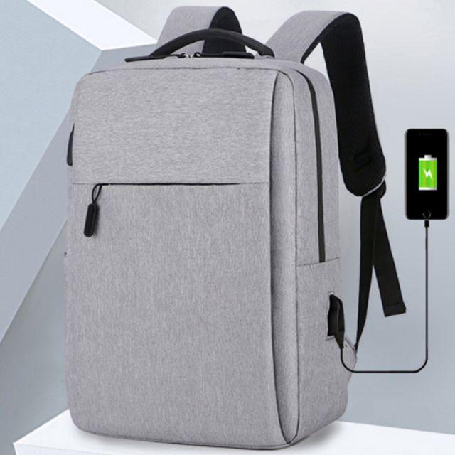 W USB 충전 포트 생활방수 가벼운 노트북 백팩