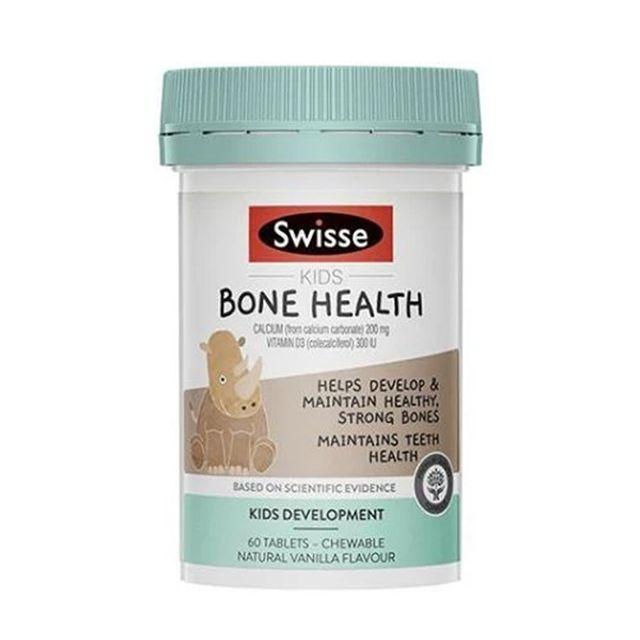 [해외] Swisse 키즈 뼈건강 Bone Health 60정