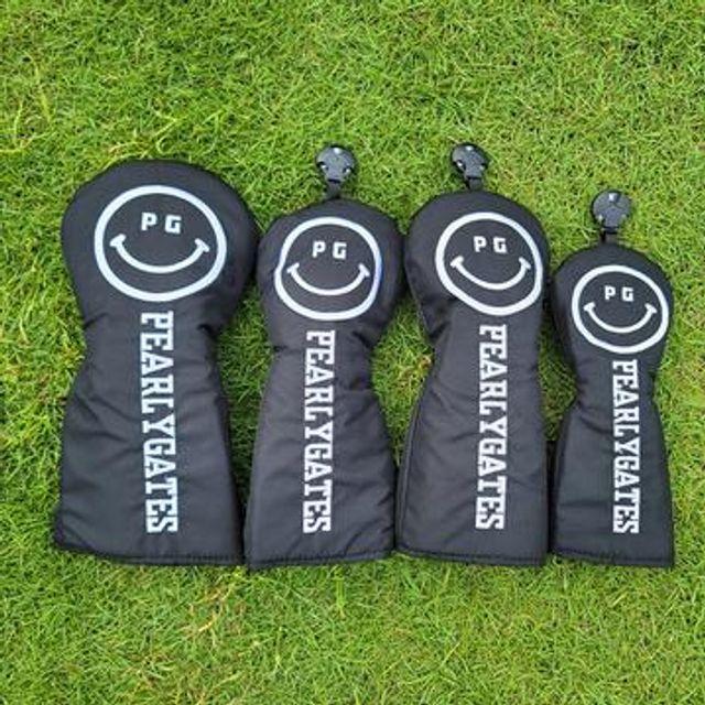[해외] 골프용품 웃는얼굴 헤드 1번 3번 5번 유틸 커버세트2