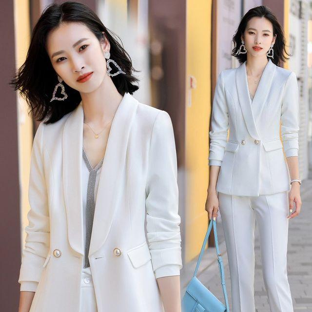 [해외] 여성 패션 재킷 자켓 정장세트oxiangfeng