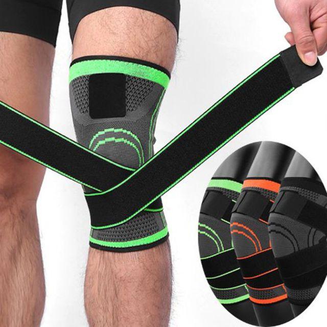 W 통기성 내구성 고정감 좋은 무릎 안전 보호대