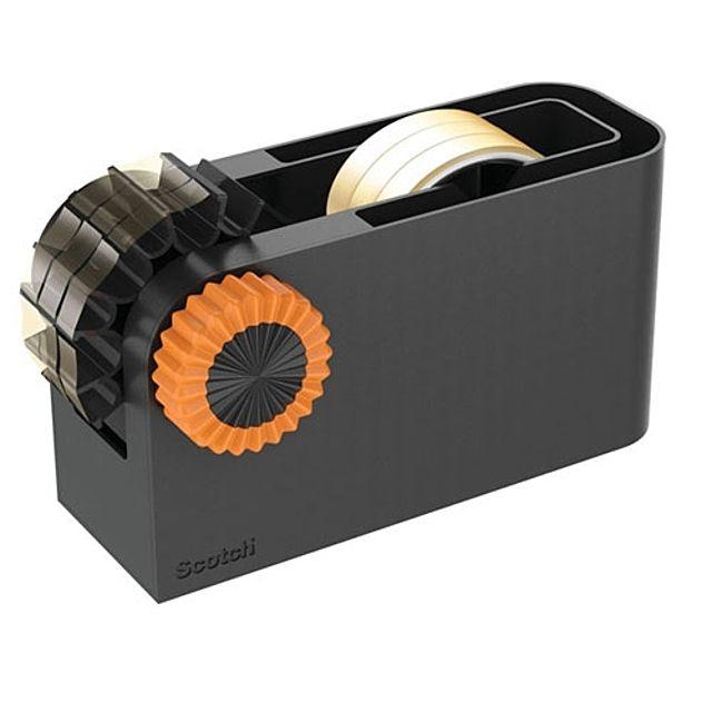 3M)테이프 디스펜서(블랙_오렌지_3Inch)-박스(30개입)