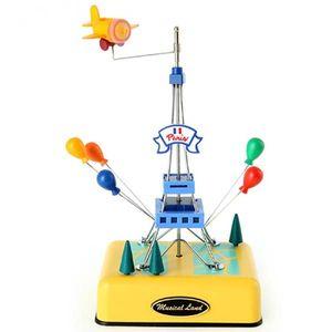 인테리어 소품 선물 뮤직 New 에펠탑 오르골(옐로우)