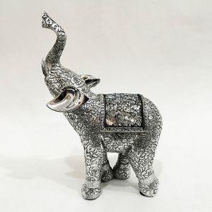 장미 코끼리 장식소품 LK86292