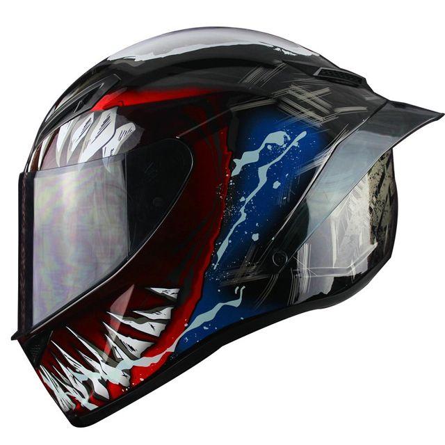 [해외] Nitrinos 파라오 오토바이 경주 헬멧
