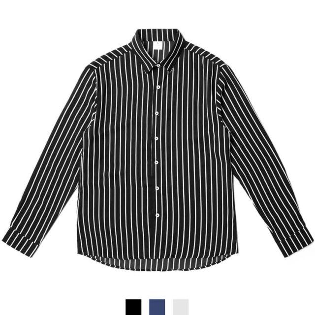 남자셔츠 데일리 스트라이프 셔츠