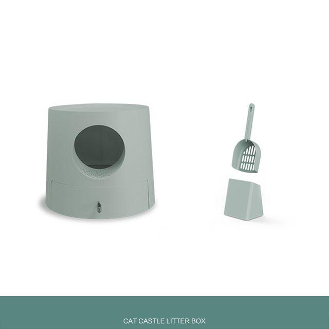 [해외] 고양이 화장실 캣토일렛 배변통 배변박스