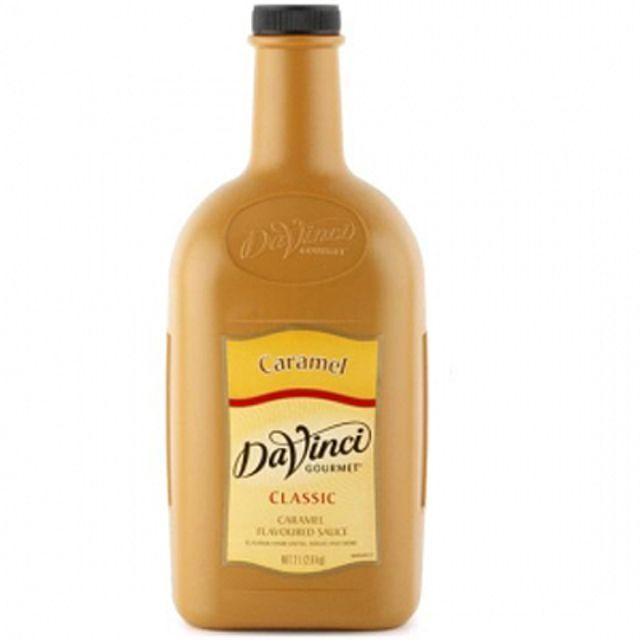 다빈치 뉴카라멜 블렌드 소스 2L 시럽 라떼시럽,과일시럽,카라멜시럽,티전용시럽,시럽,라떼시럽
