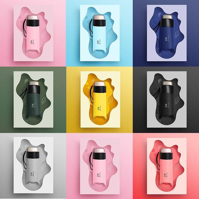 [해외] 패션소품 양산 방수 방풍 휴대용 캡슐 우산