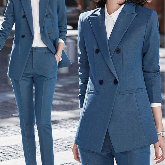 [해외] 여성 패션 재킷 자켓 정장세트OL 공식적인 마모