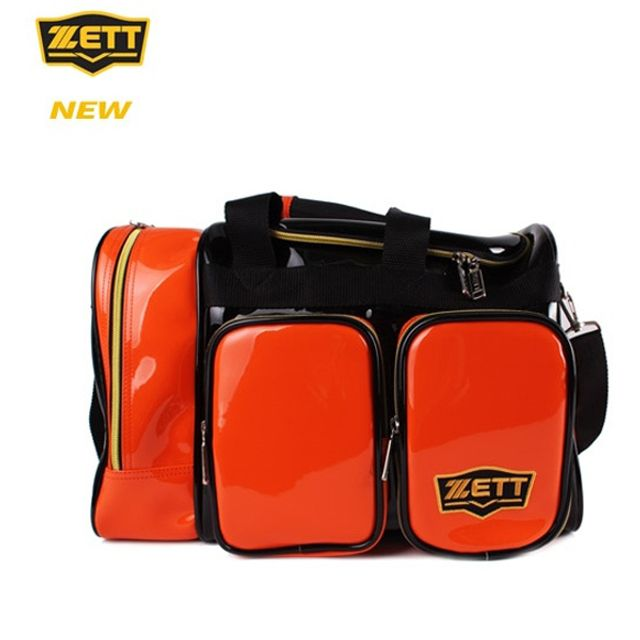 ZETT 제트 야구 개인장비 가방 BAK-537J 오렌지 보관