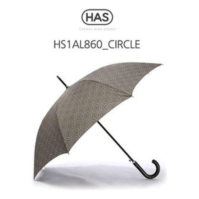 헤즈 자동 장우산 가죽핸들 HS1AL860 CIRCLE 250개 인쇄무료