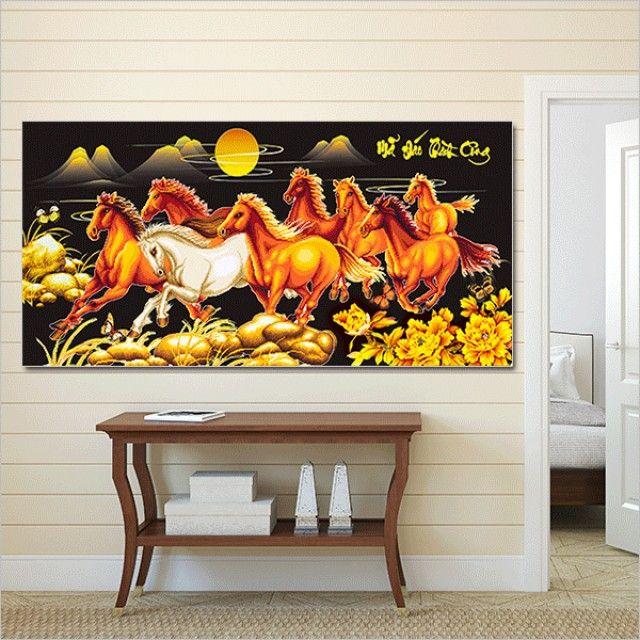 보석십자수 5D 황금 팔마도(120x60cm)
