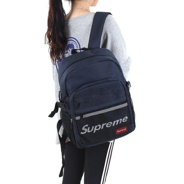 W 남자 여자 가벼운 학생 대학생 가방 데일리 백팩
