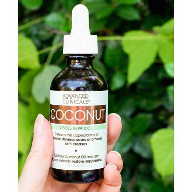 [해외] Advanced Clinicals 미국 코코넛오일 피부 에센스