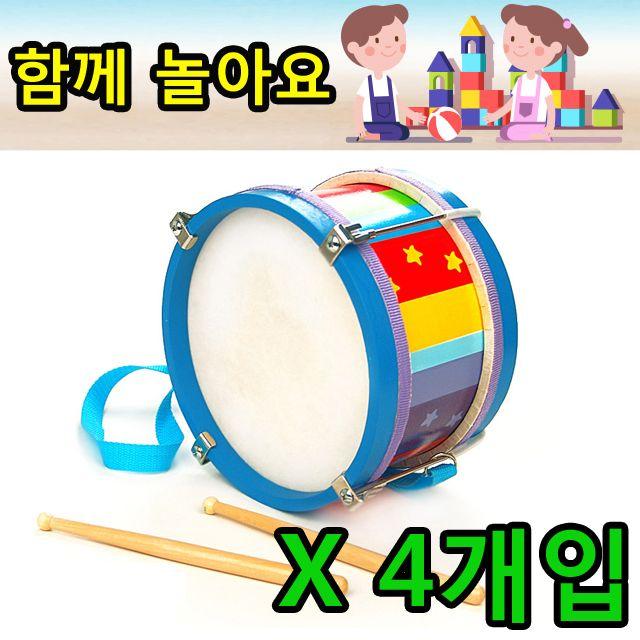 박자감 리듬감 향상에 좋은 감각 발달 드럼 X 4개입
