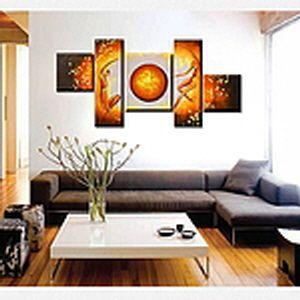 유화 페인팅 현대 스타일 액자 인테리어 고급 벽화