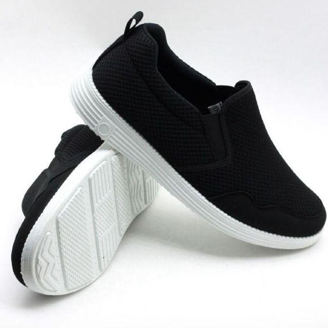 W 남성 운동화 워킹화 엣지 스니커즈 런닝화 신발 2색