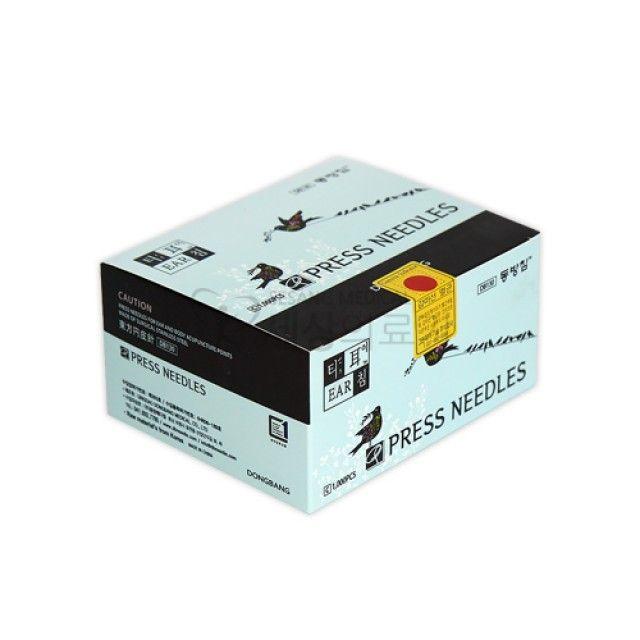동방T이침 100pcs(10갑) 0.18x1.5mm 일회용침 T침