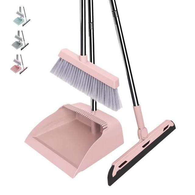 W 키밍 다용도 빗자루세트 빗자루쓰레받기세트 청소도구