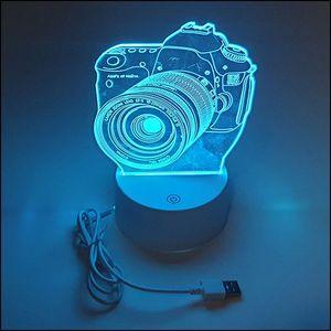 야간조명등 입체 SLR카메라