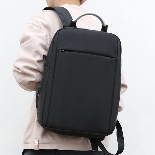 W 남성 패션 캐주얼 가방 노트북가방 회사원 심플 백팩
