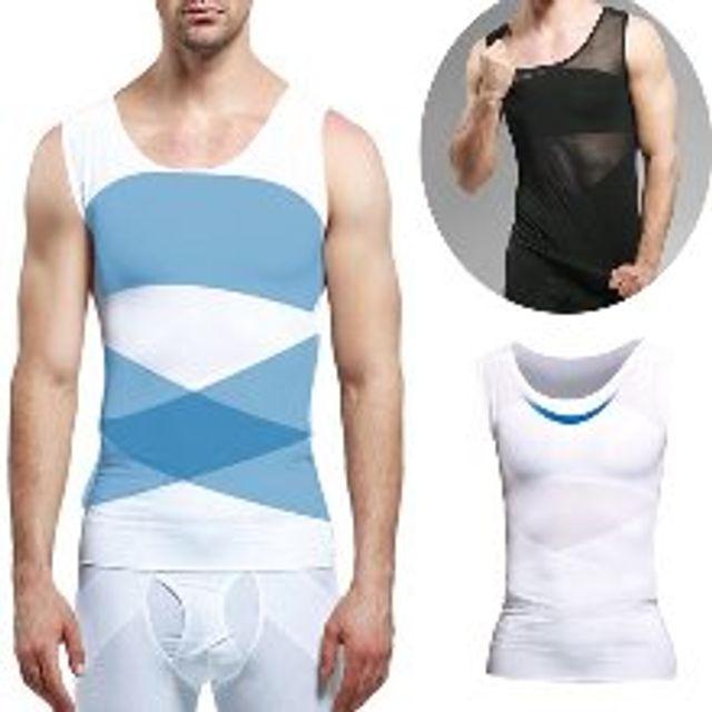 GnJ 머슬핏 바디라인속옷 보정나시 남성보정나시