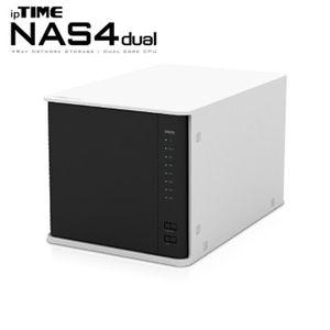 아이티알,KU ipTIME NAS4dual 12TB(4TB X 3개) 4Bay NAS